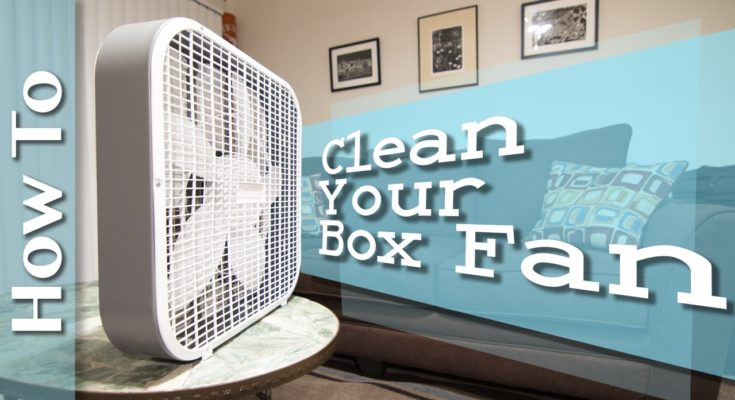How to Clean a Fan Without Taking it Apart